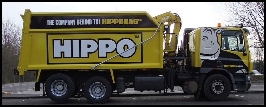 An image of a HIPPO lorry