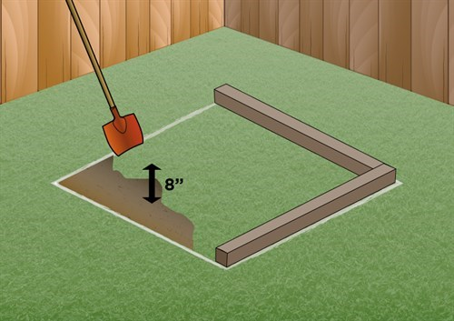 Measure up before you build your sandpit