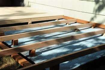 How to lay decking a step by step guide hippo for Decking framework timber