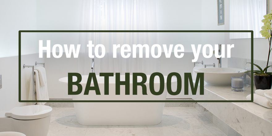 how to remove your bathroom rip out guide. Black Bedroom Furniture Sets. Home Design Ideas
