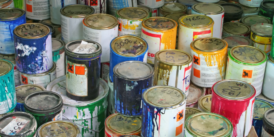 How To Dispose Of Paint Responsibly