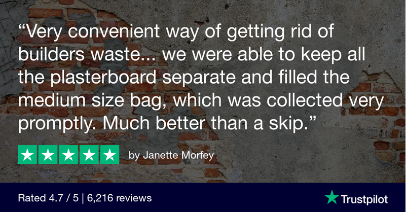 5-Star HIPPOBAG Review - Building and rubble waste removal